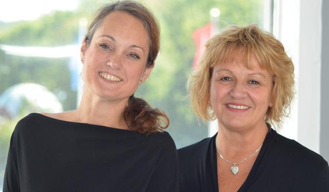Ann Åfeldt och Pia Nyzell