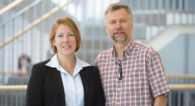 Malin Rosqvist och Hans Hansson, Mälardalens högskolas projektledare för PROMPT