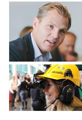 Niklas Rengfors och Karolina Winbo