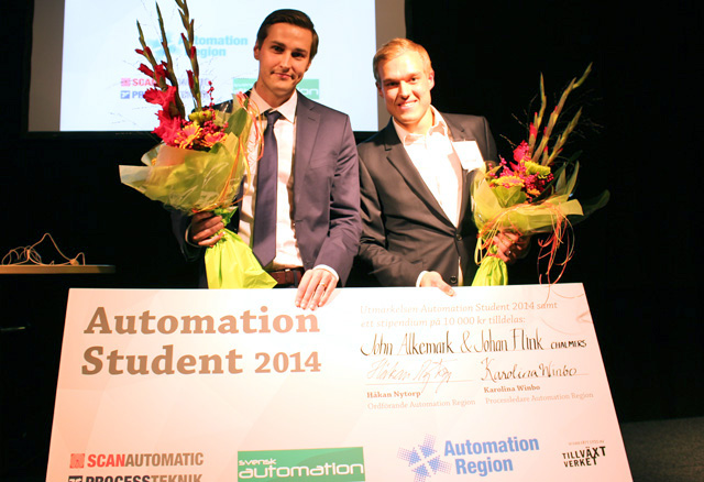 Vinnare Automation Student 2014