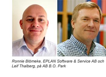 Ronnie Blömeke och Leif Thalberg