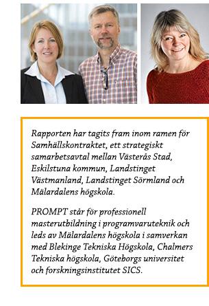 Malin Rosqvist, Hans Hansson och Ylva Wretås