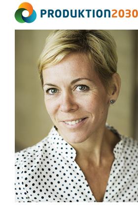 Cecilia Warrol, programchef för Produktion2030
