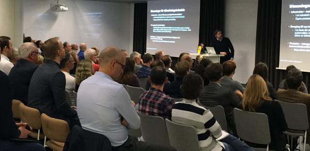 """Den 8 december arrangerade Automation Region ett frukostseminarium i Västerås på temat """"Industri 4.0 – politik eller teknik?"""""""