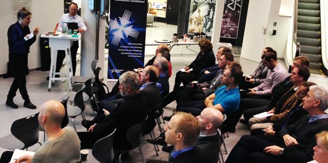 Frukostmöte om innovation på expectrum i Västerås
