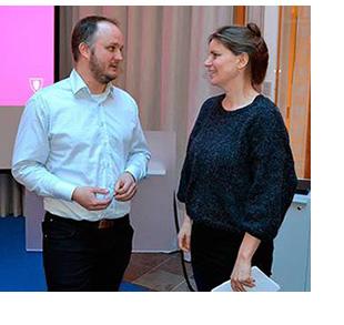 Daniel Gustavsson och Jennie Schaeffer, foto Fredrik Karlsson, Ny Teknik