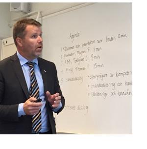 Magnus Forssén, Bombardier Transportation Sweden