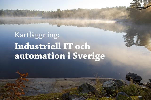 Kartl�ggning av industriell IT och automation i Sverige