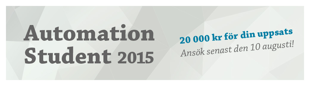 Automation Student 2015