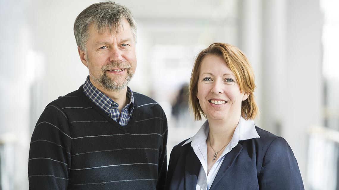 Projektledarna Hans Hansson och Malin Rosqvist kommer vara på plats för att delta i prisutdelningen.