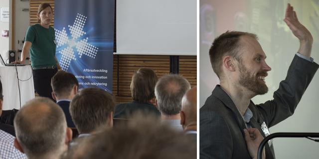 Seminarium vid Entreprenörsveckan i Båstad, juni 2016