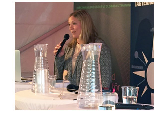 Karolina Winbo i Almedalen