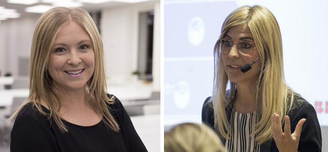 Karolina Winbo och Susanne Timsjö