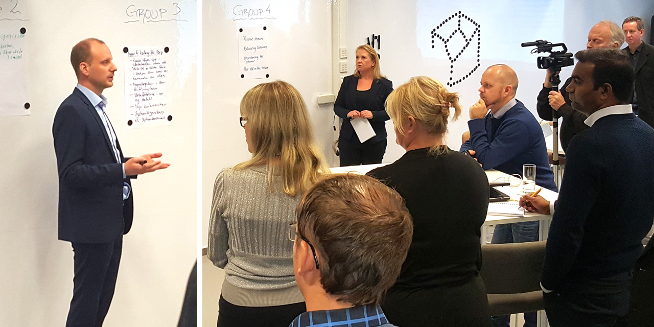 Workshop om försäljning av avancerade tjänster