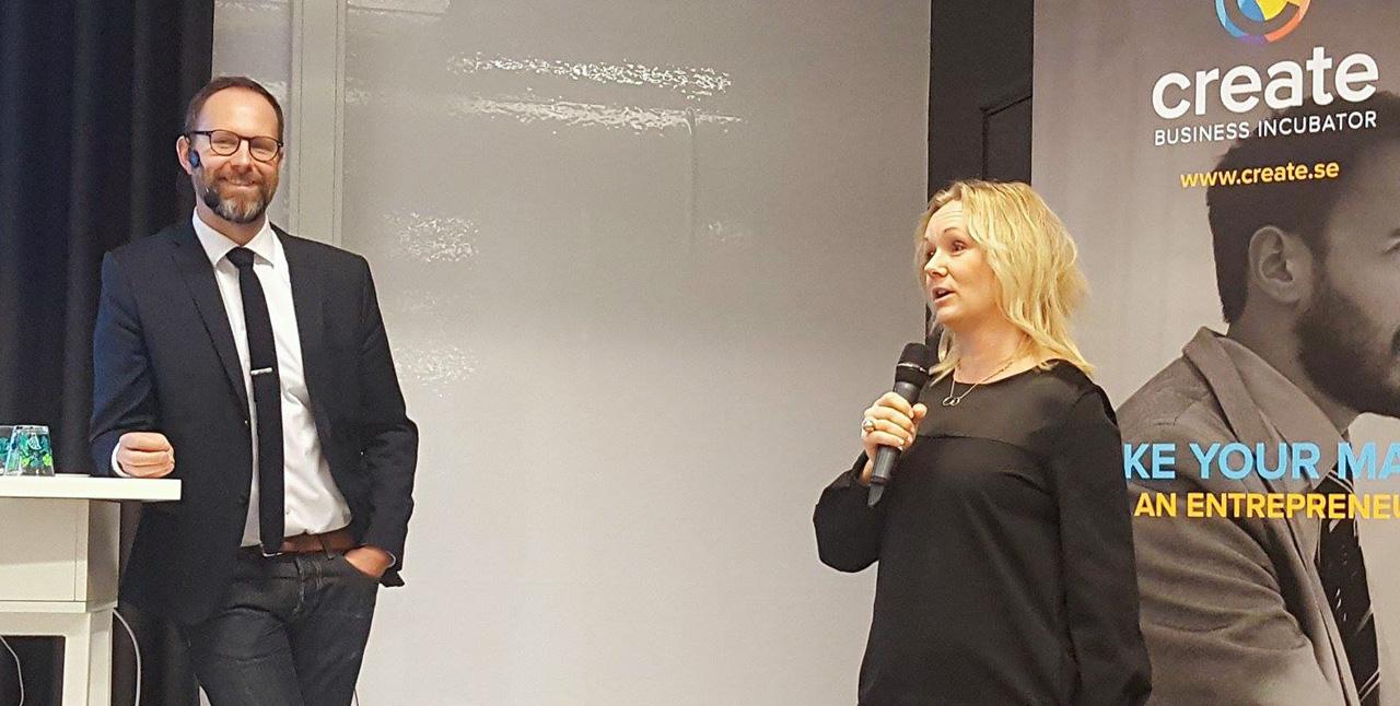 Erik Asp-Hennerdahl och Pia Nilsson